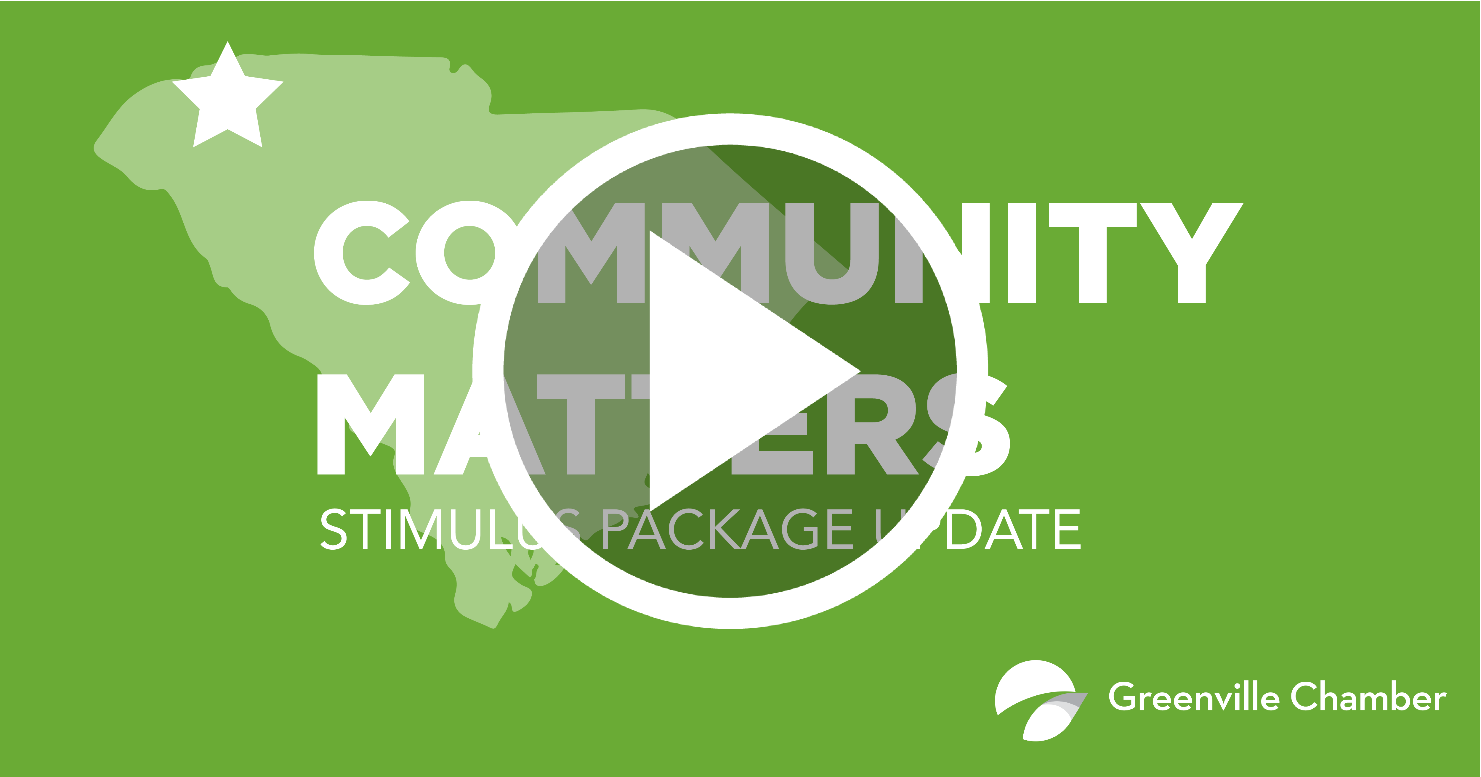 Greenville Chamber Of Commerce Community Matters Stimulus Package Update